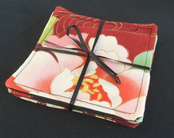 Set of 4 In The Garden Coasters