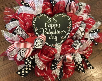 Lovely Valentine Wreath