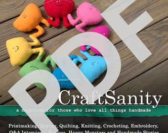 CraftSanity Magazine Issue 9 PDF Edition