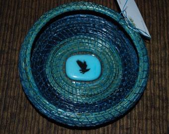 "Pine Needle Basket ""Screaming Eagle"""