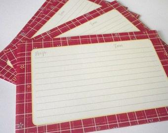 Recipe Cards Actual set of 18