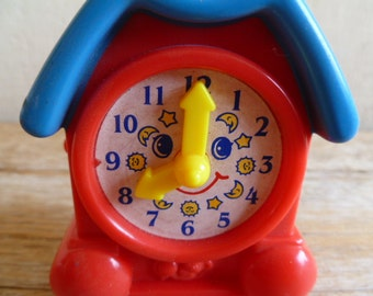 Vintage McDonalds Clock Happy Meal Toy Under 3