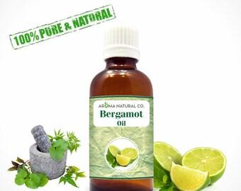 Bergamot Essential Oil Pure & Natural For Aromatherapy-Therapeutic Grade-Fragrance Oil