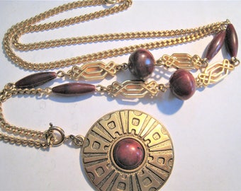 Vintage Sarah Coventry Necklace w/ Removable Drop