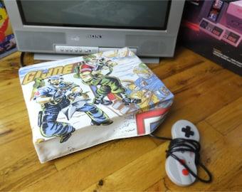 GI Joe WRETRO WRAPPER console dust cover