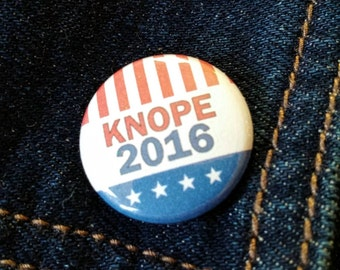 """Knope 2016 1"""" Button or Magnet Parks and Rec"""