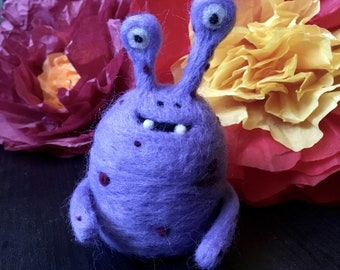 Remy the Needlefelted Monster