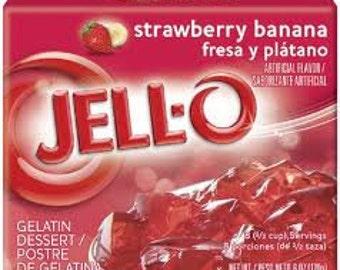 6 Pack Strawberry Banana Soy Votives