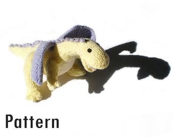PDF Pattern - Primrose the Dragon - Knitting and Crochet