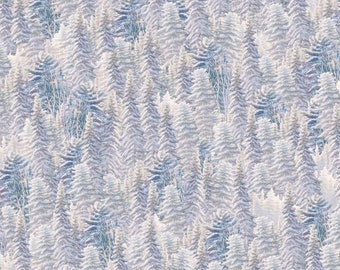 "Silent Flight ""Frost Blue""-Quilting Treasures-BTY"