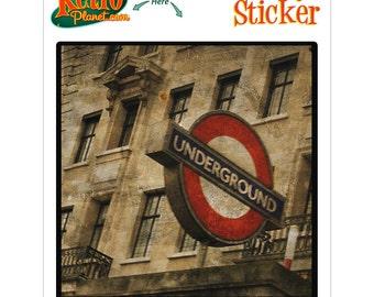 London Underground Rovinato Vinyl Sticker - #64587