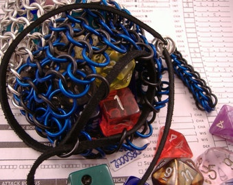 Chainmaille Dice Bag Small