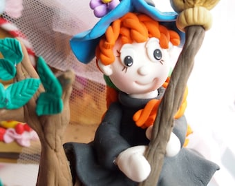 Witch Cake Toppers - Ready Made