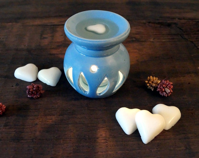 Scented Soy Wax Melts Heart set 12 Home fragrance Aroma soy scented Candle warmer Melt tarts Essential oil diffuser Home decor Aromatherapy
