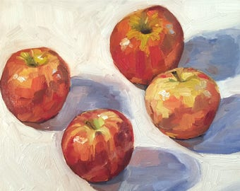 Four Gala Apples