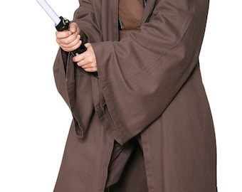 Star Wars Jedi Knight Jedi Robe ONLY - Dark Brown - Replica Star Wars Costume