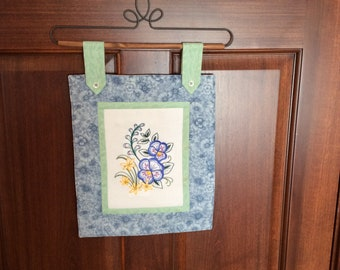 Spring Florals Wallhanging