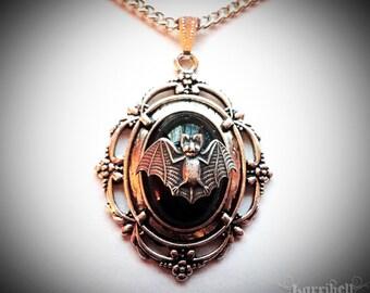 Victorian Bat Necklace // Gothic Necklace // Bat Jewelry