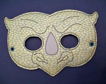 Child's Mask -  Rhino - Rhinoceros - TMNT - Rock Steady