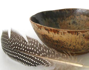 Treasure Bowl - Naturalist - Organic - Rustic - Cabin Decor - Decorative Bowl -  Sparrow - Hand Thrown Stoneware Bowl