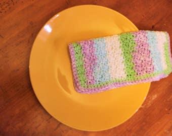 Crocheted Cotton Dishcloths