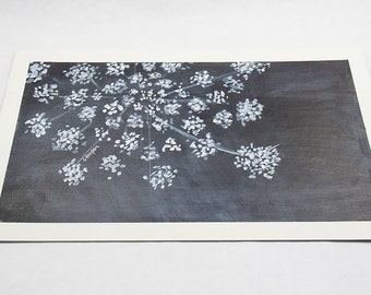 Queen Anne's Lace Painting