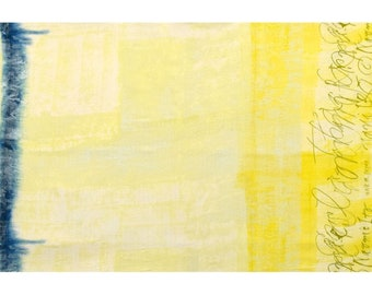 Nani IRO Fabric - Ripple 2018 - Double Gauze - Japanese Kokka Fabric - Yellow Double Gauze Fabric