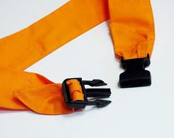 "Hunting Dog Cooling Collar, Safety Orange Fabric Band Neck Cooler Bandana Buckle Adjustable Sz Medium 14 to 18"" or Large 18 - 22"" iycbrand"