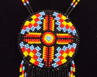 native american beadwork, native american necklace