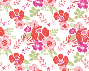 Bungalow Melody Berry Fabric #27290-31 by Kate Spain for Moda Fabrics, One yard, IN STOCK