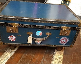 A Vintage Trunk Coffee Table