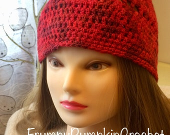 Red Hipster Toque