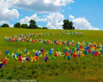 Pinwheels on a Hill