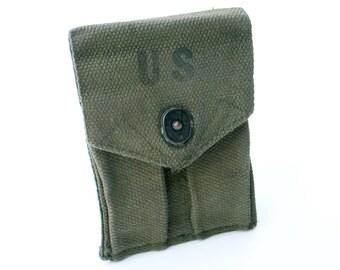 US Military Magazine Pouch Dual Pockets Army Surplus
