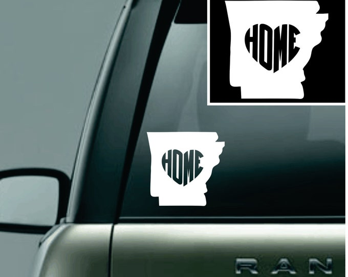 Arkansas Love Your State Car Decal