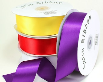 "Satin Ribbons 1.5"" (spool of 50 yards  - ** FREE SHIPPING **"