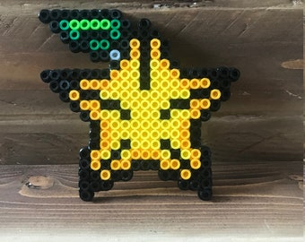 Kingdom Hearts Paopu Fruit Perler Art