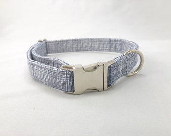 Geometric Dog Collar · Navy Dog Collar · Large Dog Collar · Small Dog Collar · Blue and White Collar · Blue Geometric Collar