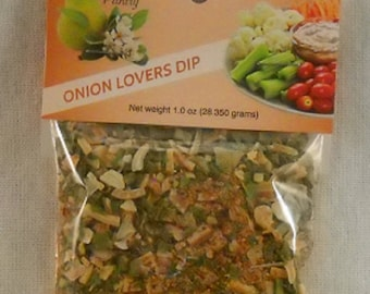 Onion Lovers Party Dip and Seasoning Party Wedding Favors
