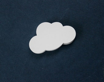 Cute White Cloud Cutouts - Baby Shower - Sky Cloud Die Cuts - Set of 60