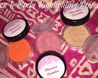 Face and Body Highlighting Powder
