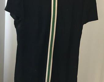 Super cute vintage black Mod dress size 14