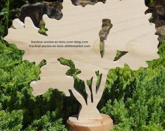 "WOODEN tree ""tamarisk"""