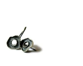 boho silver earrings   tiny stud earrings   minimal earrings   minimalist dangle earrings  boho earrings   mothers day gift   cool earring