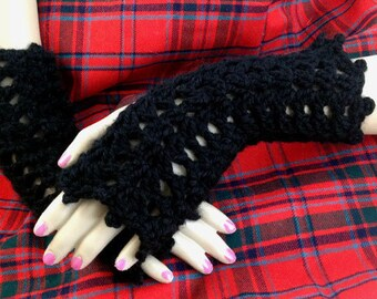 Outlander Texting Gloves Black, Gray, Ivory Fingerless Gloves Black Arm Warmers Armwarmers Wrist Warmers, Outlander Mitts, Outlander Gift