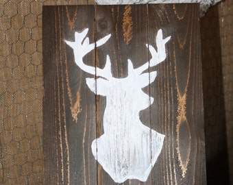 White Buck Sign