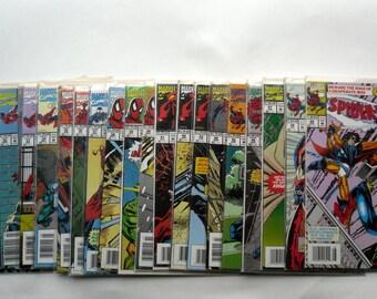 Marvel Comics Spider Man Lot of Twenty Comic Books/ 30-49