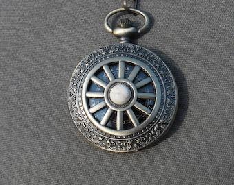 Pocket Watch steampunk wheel of life