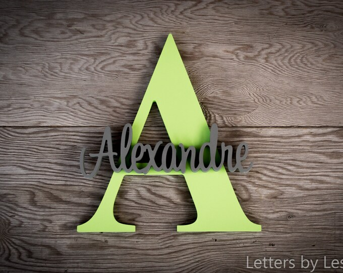 Custom Nursery wall Decor, Wooden name sign, Custom Children's Wall Names, Personalised Signs and Letters. Kids wall decor names