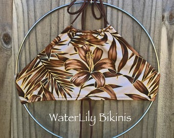 Exumas Bikini Top - Choose your fabric